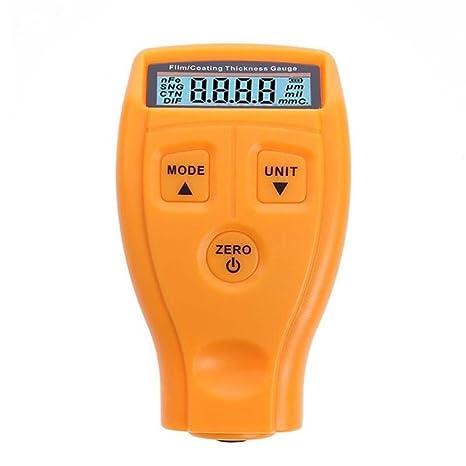 Espesímetro portátil Mini Digital überzogenes Instrumento de grosor con pantalla LCD Inalámbrico Prueba drenaje, la