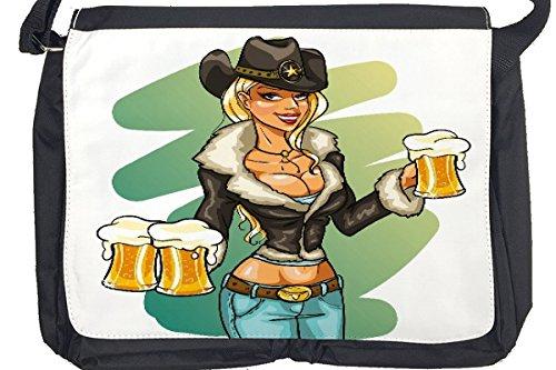 Borsa Tracolla Sexy Divertimento Boccale di birra Stampato