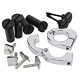 XMT-MOTO CNC Quick Release Mounting Hardware Screw Kits For 1989-2013 all touring models FLT, FLHT, FLHTCU, FLHRC, Road King, Street Glide, Electra Glide, Ultra-Classic