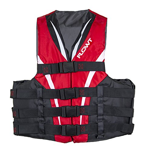 Flowt 40402-S/M Type III Extreme Sport Life Vest (Red, Small/Medium)
