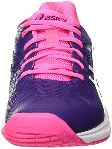 Femme Parachute Purple Rose Solution 3 Tennis Chaussures Gel de Pink White Asics Speed Hot Multicolore W wp8Pn7