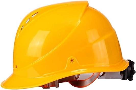 Casque En Plastique Haute Reistance Protection De Tête Pour Travail Construction