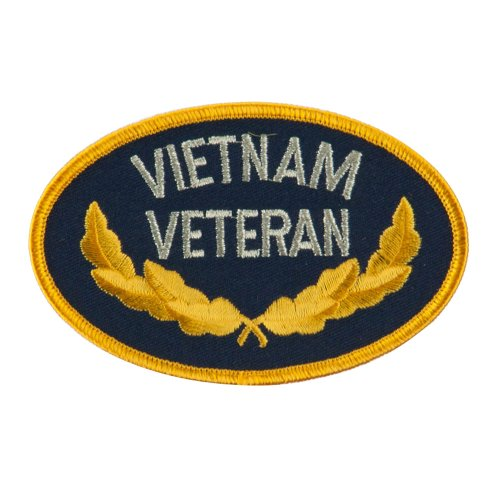 Retired Embroidered Military Patch - Vietnam Veteran OSFM