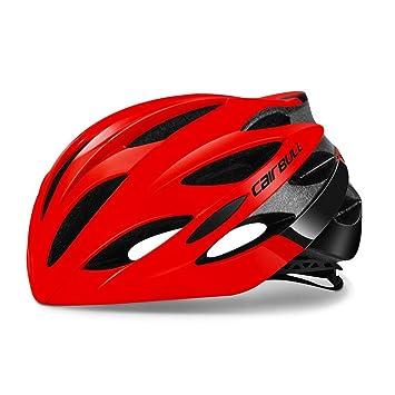 StageOnline CAIRBULL Casco para Bicicleta Ajustable Ciclismo para Adultos Casco Unisex para Carreras En Carretera - 200g: Amazon.es: Deportes y aire libre