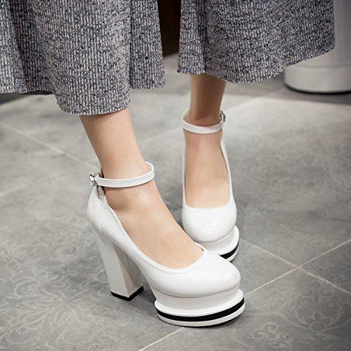 superiori Scarpe da delle scarpe scarpa basse un white YWNC della dell'inarcamento alti talloni delle scarpe scarpe pezzo donne degli di delle delle scarpe 37 sole delle ZdqdFw0