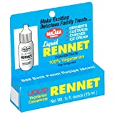 Malaka Brand Liquid Vegetarian Rennet, 0.5 Ounce Bottle (Pack of 2)