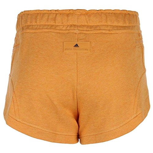 Adidas by Stella McCartney Yo Knit Short pour pantalon Femme Fitness neuf Orange