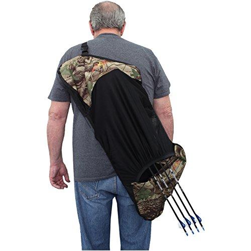 Southland Archery Supply SAS Compound Bow Cover Sleeve Quick Slip Design (Camo)