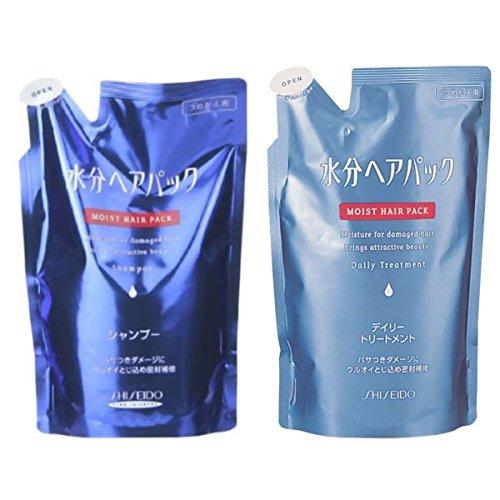 AQUAIR Shiseido Aqua Hair Pack Shampoo and Condtioner Refill Set