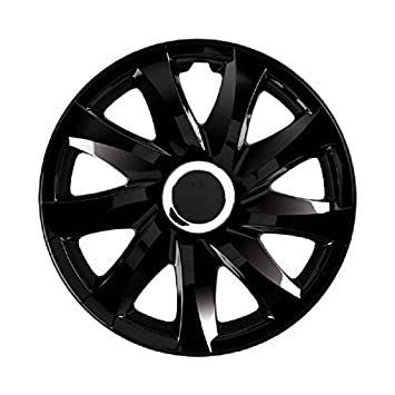 DRIFT Hubcap Wheel Cover 13 Inch for Volkswagen VW Polo 6N 9N 6R / Lupo / Caddy / Passat Black: Amazon.co.uk: Car & Motorbike