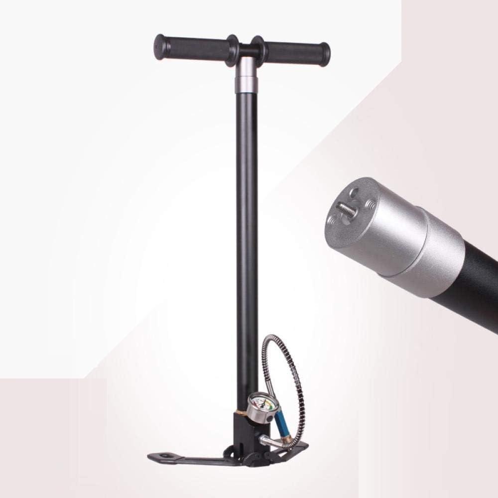 SlimpleStudio Bomba de Bicicleta 30MPA 4500PSI Air PCP Bomba de Paintball Rifle de Aire Bomba de Mano 4 etapas Alta presión con Filtro Mini compresor Bomba de Aire