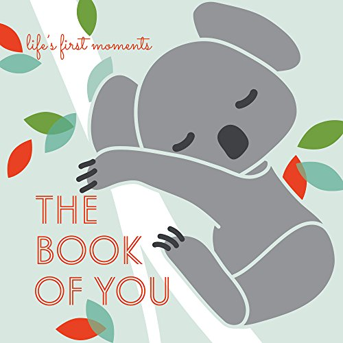 Little Lion Studio Baby Memory Book, The Book of You - A Beautifully Simple Keepsake Journal for Newborns First Year's Milestones Record – Shower Your Loved Ones with an Heirloom Gift (Mint)