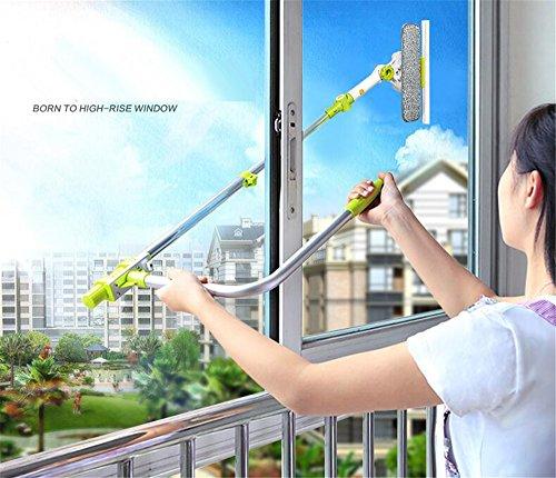 Cuzit Telescoping Window Washing Tool U Grip Window Cleaner...