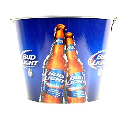 Bud Light Full Color Metal Beer Bucket Nice Ideas