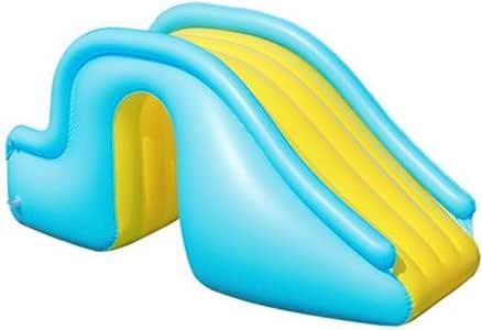 bulrusely Tobogán Acuático Inflable, Juguetes Inflables para Toboganes De Piscina De PVC, Toboganes De Agua De Seguridad con Escalones Ensanchados, Suministros para Piscinas: Amazon.es: Hogar