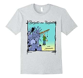 Mens Beyond the Playlist with JHammondC T-Shirt 2XL Heather Grey