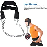 2fit Nylon Head Harness Neck Strength Head Strap Weight Lifting Exercise Fitness Belt