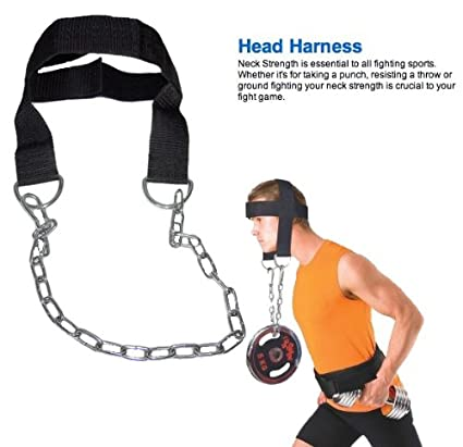 Amazon.com : 2fit Nylon Head Harness Neck Strength Head Strap Weight