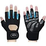 Amble Workout Gloves with Wrist Support...