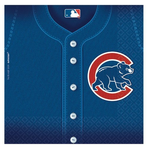 - Chicago Cubs Party Napkins - 36 Ct
