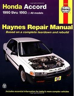 Honda accord and prelude 1984 95 chilton total car care series honda accord 1990 thru 1993 all models haynes repair manual fandeluxe Gallery