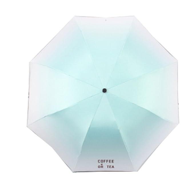 LybCvad paraguas Sombrilla paraguas plegables paraguas fresco y ...