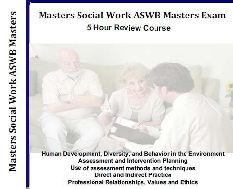 Masters Social Work ASWB Masters Exam, 5 Hour, 5 Audio CDs Review Course, ASWB Social Work Boards Exams Review MSW (Mp3 version available upon request) by World Business Publishing