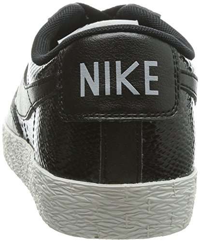 Nike W Blazer Low Ltr Prm Womens Running Shoes Black/Black-light Ash Grey-sl 9svAFyCL