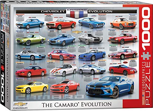 EuroGraphics Chevrolet The Camaro Evolution 1000-Piece Puzzle