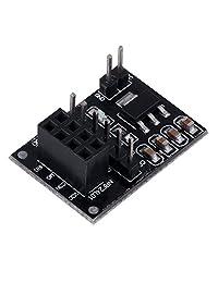 10 unids Adaptador de zócalo Placa de placa 8 Pin NRF24L01 + Transceptor inalámbrico? Módulo