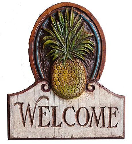 - Pineapple Welcome House Sign Large Size