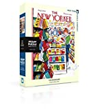 New York Puzzle Company - New Yorker The Bookstore - 1000 Piece Jigsaw Puzzle