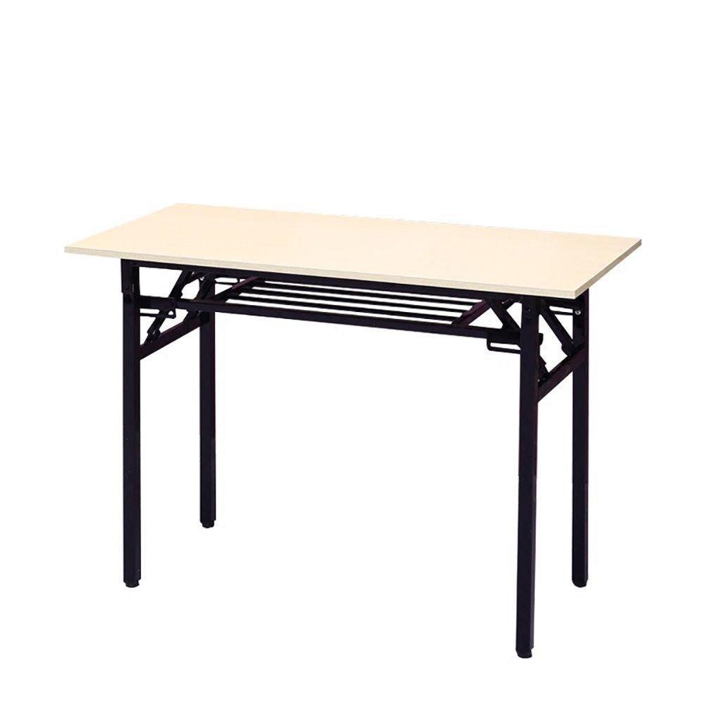 YXX- シンプルな折り畳みの研究のテーブルデスクキャンプの長方形のトレーニングテーブルのための屋外の木の折り畳み式ストールテーブル2ティア (サイズ さいず : 120*40*75cm) B07DS1HTQJ 120*40*75cm  120*40*75cm