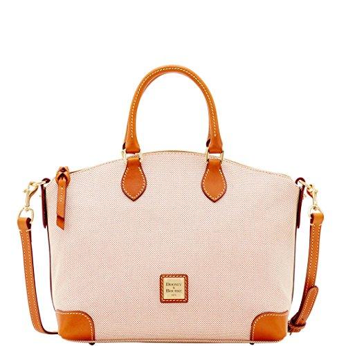 dooney-bourke-linen-satchel