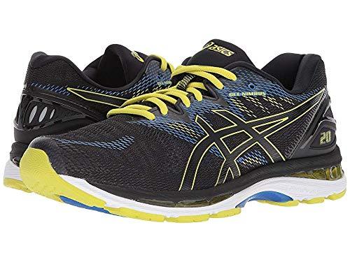 ASICS Men's Gel-Nimbus 20 Running Shoe, Black/Sulphur Spring/Victoria Blue 6 D US  by ASICS (Image #3)