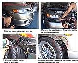"STETION Quick Release Latch License Plate Lock Clip 1.25"" Diameter Aluminum Alloy Car Hood Pins Lock Clip Kit for Bumper Hood License Plate"
