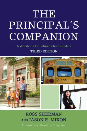 The Principal's Companion: A Workbook for Future School Leaders