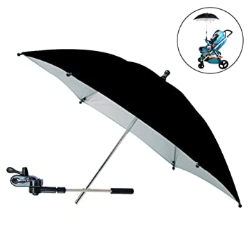 SLC Baby Stroller UV Protection Clip-On Umbrella Stand Holder 360 Degrees Adjustable Sun Canopy  sc 1 st  Amazon.com & Amazon.com : SLC Baby Stroller UV Protection Clip-On Umbrella ...