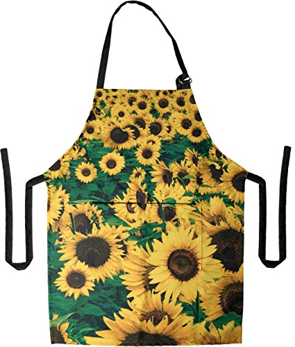 Sunflower Apron - ProSphere Sunflowers All Over Print Apron