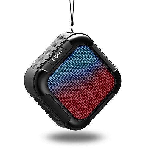 DOSS MagicBox Wireless Portable Bluetooth Speakers with High-Definition Sound - Black