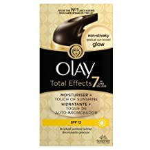 Olay Total Effects Touch of Sunshine SPF15 Moisturiser with Light Self Tan