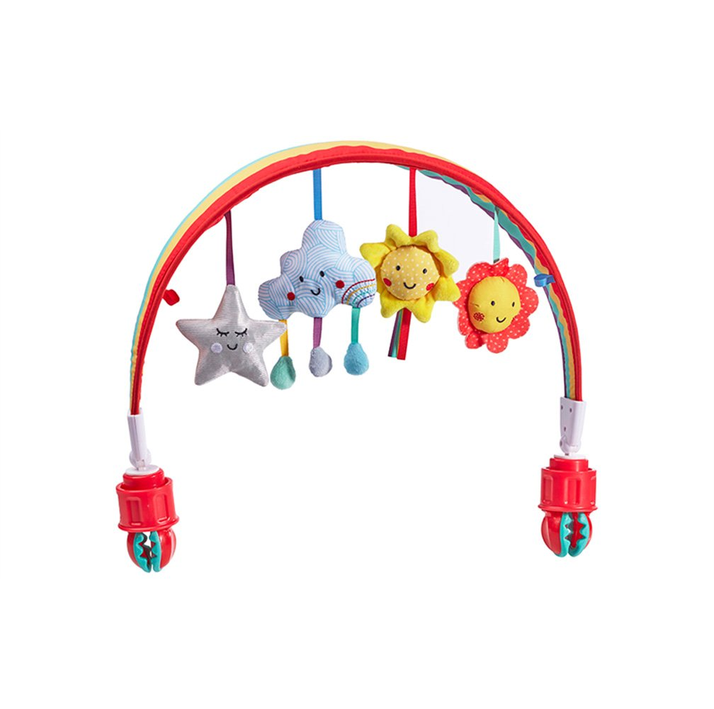 Baby Sensory Say Hello Happy Adventures Stroller Arch Toy Eastcoast