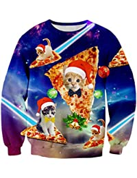 Men/Women Ugly Christmas Sweater 3D Print Pullover Funny Graphic Sweatshirts