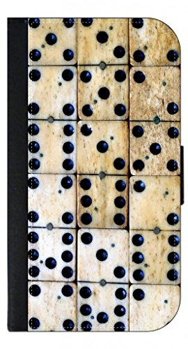 Ivory Dominoes TM Leather and Suede PU Case Compatible wi...