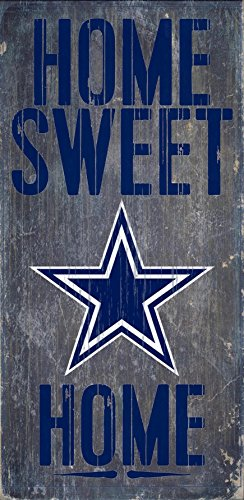 Fan Creations - Dallas Cowboys Wood Sign - Home Sweet Home 6