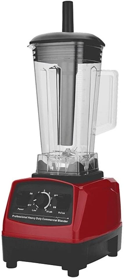 Explosion Smoothie Machine Wall Breaker Juicer, Household Baby Food Supplement Soy Milk Mixing Juicer (Color : Red)