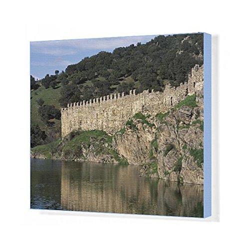 Prints Prints Prints 20x16 Canvas Print of Spain. Buitrago del Lozoya. Walls. 11th-15th (14406294) by Prints Prints Prints