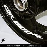 Honda CBR600RR Motorcycle Inner Rim Sticker Stripe RW