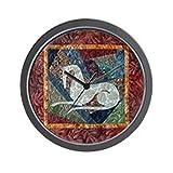 CafePress - Tribal Meditations Wall Clock - Unique Decorative 10'' Wall Clock