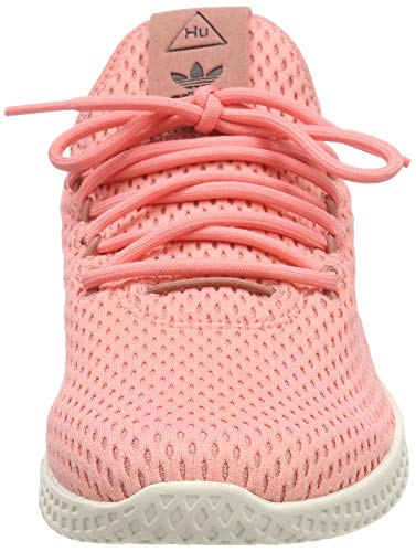 adidas Originals PW Tennis HU Mens Trainers Sneakers (UK 3.5 US 4 EU 36, Pink White BY8715) by adidas (Image #4)